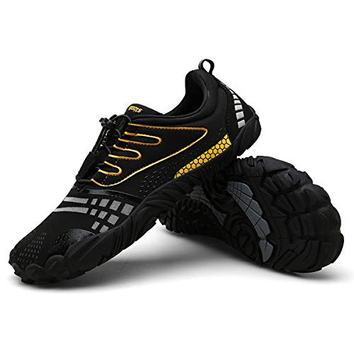 Zcoli Trail Running Shoes Outdoor Athletic Hiking Trail Runner for Men Women