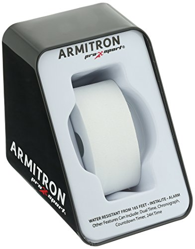 Armitron Sport Unisex 45/7045 Digital Chronograph Resin Strap Watch
