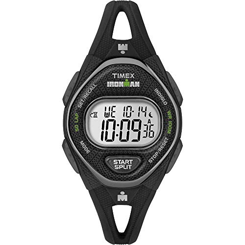 Timex Mid-Size Ironman Sleek 50 Silicone Strap Watch
