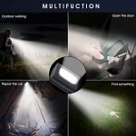 LED Night Running Safety Light for Runner 2 Pack Kids Walking Dog Jogging Biking Hiking Super Bright High Visibility USB Rechargeable Strong Magnetic Clip