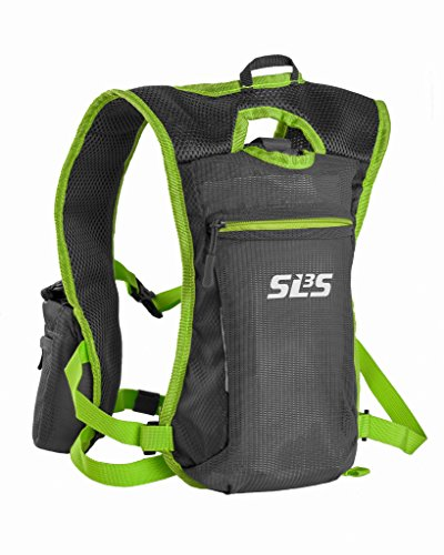 SLS3 Running Hydration Vest | Small Trail Runner Vests | with 2 Bottles – 19oz – 34oz | Running Water Backpack Men Women | Ultra Jogging Back Pack
