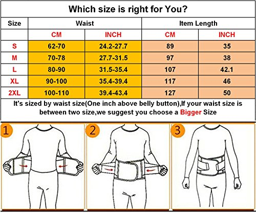 VENUZOR Waist Trainer Belt for Women – Waist Cincher Trimmer – Slimming Body Shaper Belt – Sport Girdle Belt (UP Graded)