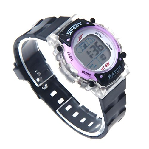 Siviki Boys Digital Sport Watch, Kids LED Electronic Waterproof Outdoor Watches Boy Running Cool Fashion Watch
