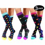 Compression Socks For Men & Women –Funny socks Best Medical All Sports,Travel,Nurse – 20-25 mmHg