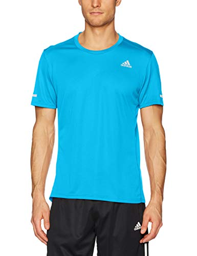 adidas Men's Running Short Sleeve Run Tee