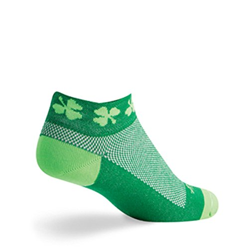 SockGuy Classic 2in St. Pattys Day Limited Edition Cycling/Running Socks