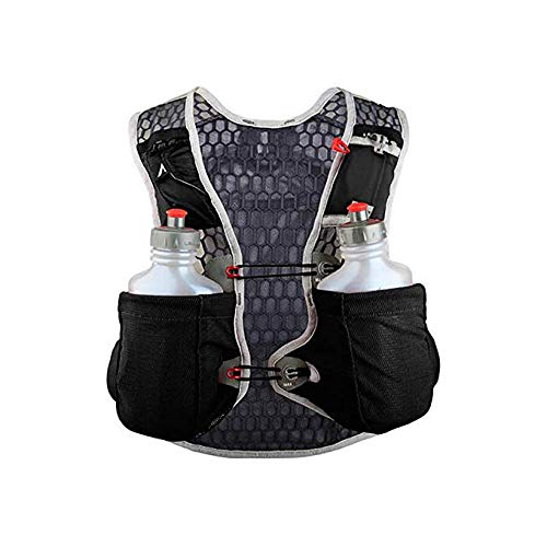 Ultraspire Alpha 3.0 Hydration Pack | Fluid Capacity up to 3 Liter | 2 Bottles Included | BPA & PVC Free Bladder