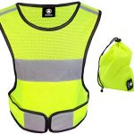 High Visibility Vest. Reflective Running Vest. Reflective Vest for Walking. Safety Reflective Running Gear for Men and Women for Night Running. Reflective Tape Bands Clothing.