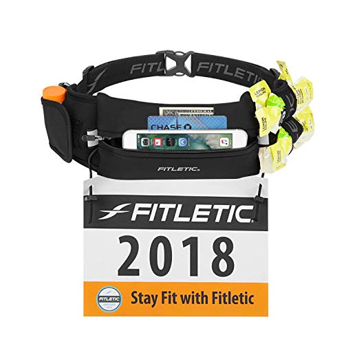 Fitletic Running Belt – Ultimate II Race Belt