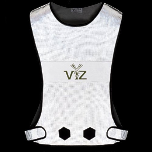 247 Viz Blaze – Reflective Vest 360 – Be Seen from All Angles While Running, Walking Jogging, Cycling, Horseback Ridding & on a Motorcycle, High Visibility with Full Reflective Surface Area