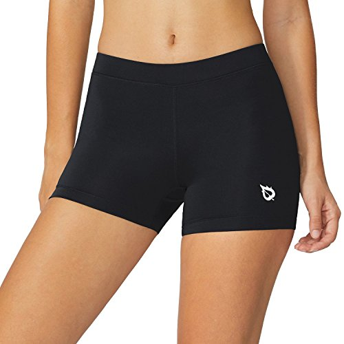 """Baleaf Women's 3"""" Active Fitness Volleyball Shorts"""
